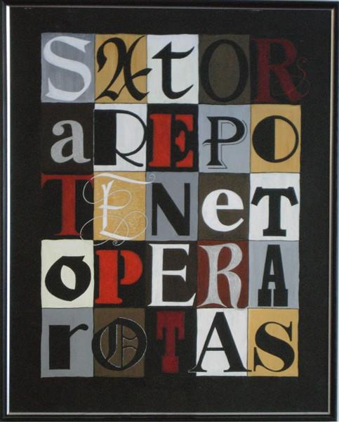 Sator Arepo, un hápaxlegómenon